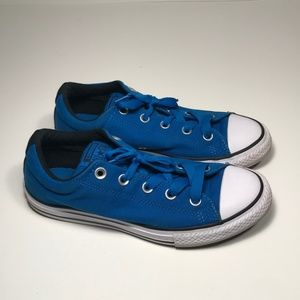 Converse Blue Canvas Sneakers Junior Youth Size 4
